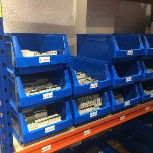 Gestión de repuestos y almacenes de mantenimiento